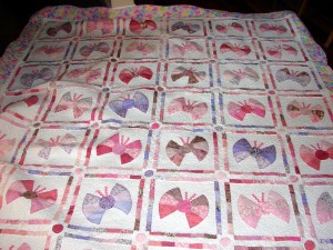 Butterfly quilt 2 - The Lindseys