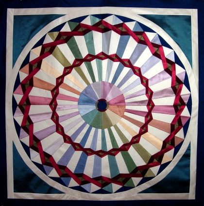 carnival quilt by Peppermint Pinwheels at flickr.com
