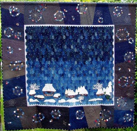 felisa quilt : Minka in Invierno