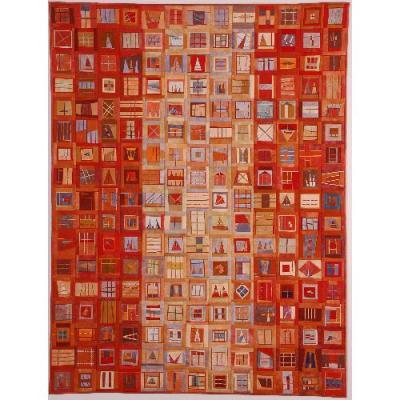 Erin Orange quilt