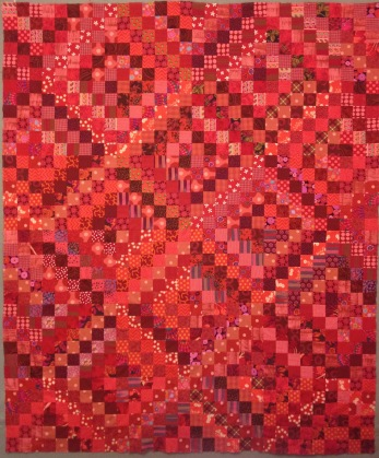 red! nifty quilts
