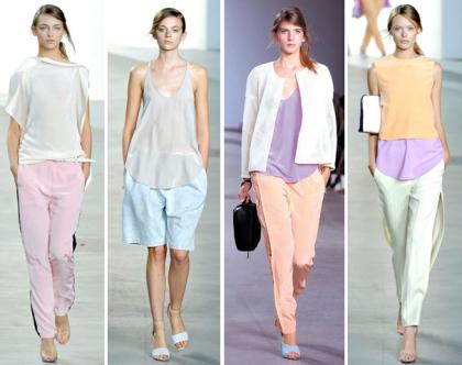 defile-PE-2012-phillip-lim-couleurs-pastels-lila-menthe-rose-poudre-peche