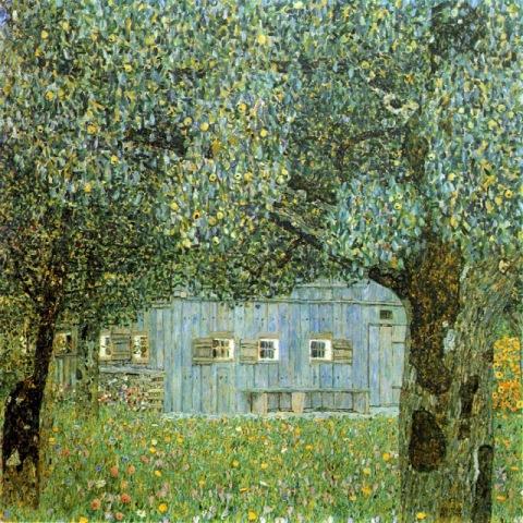 Ferme en Autriche_Klimt
