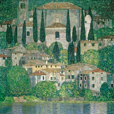 Klimt - Cassone