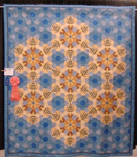 blue hexa bee