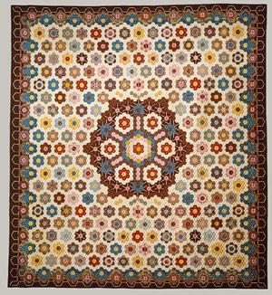honeycomb quilt Elizabeth van Horne Clarkson