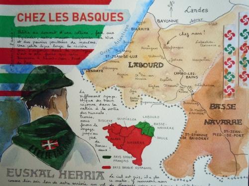chez les Basques Caroline Gay