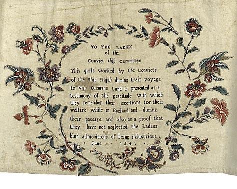 convict quilt