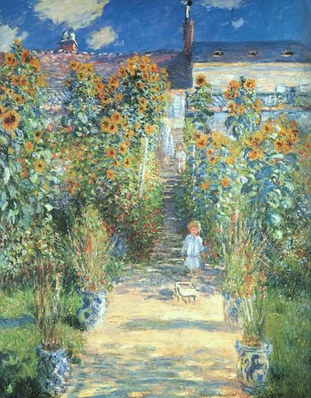 Le jardin de l'artiste à Vétheuil