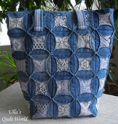 03 DSCN7049 Quilted pouch and bag + Cathedral window quilt bag