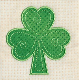 Applique Shamrock LR