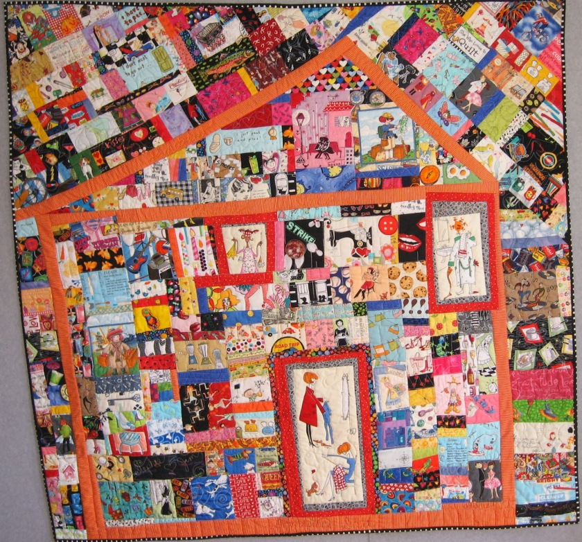 mom's life quilt
