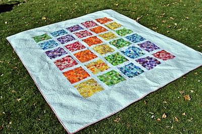 rainbow front on grass