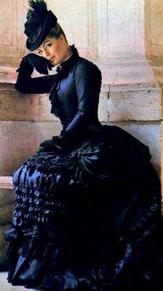 Romy, impératrice dans Ludwig de Visconti (1972)