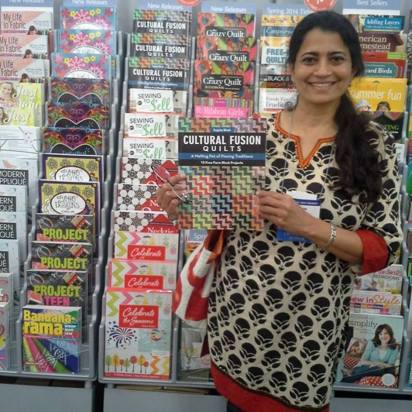 sujata with book