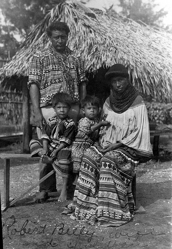 Robert Billy and his family