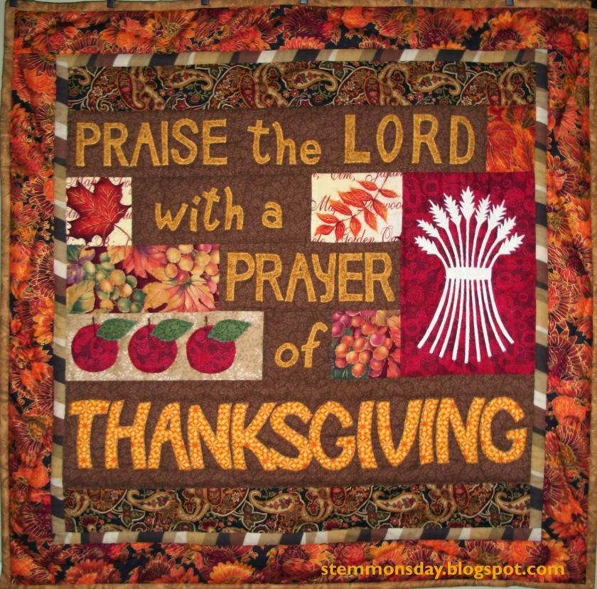 Thanksgiving Quilt 1