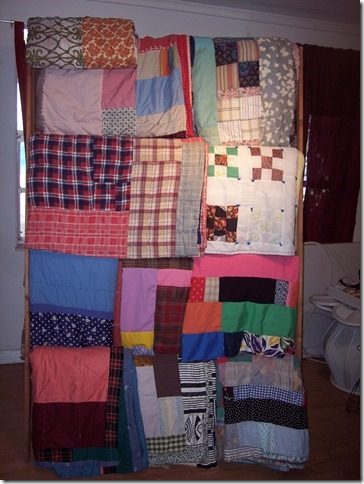 rack de quilts Miss Sue Collection Betty Ford-Smith
