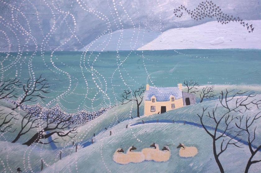 De la neige... Valériane Leblond