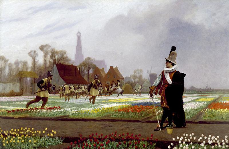 800px-Jean-Léon_Gérôme_-_The_Tulip_Folly_-_Walters_372612