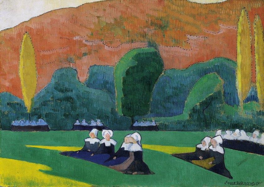 Femmes bretonnes à la prière (Le Pardon), 1892, Musée de Dallas, Texas.