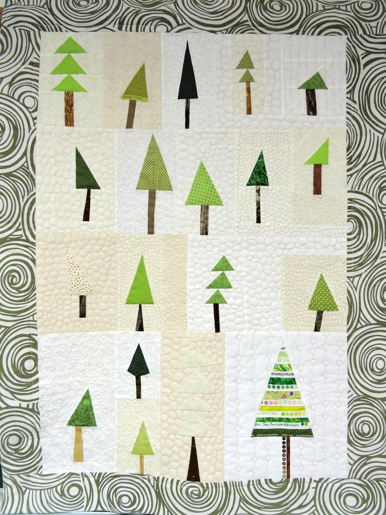A la lisière de la forêt, Kristine Ruche des Quilteuses
