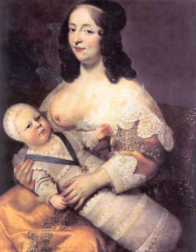 800px-Louis_XIV_and_his_nurse