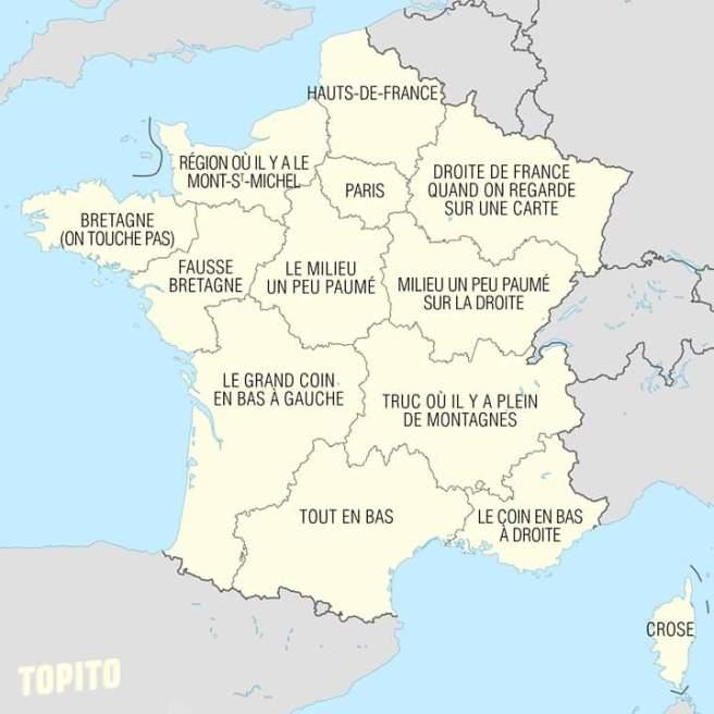 régions