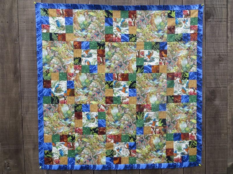 Kiwiana quilt top