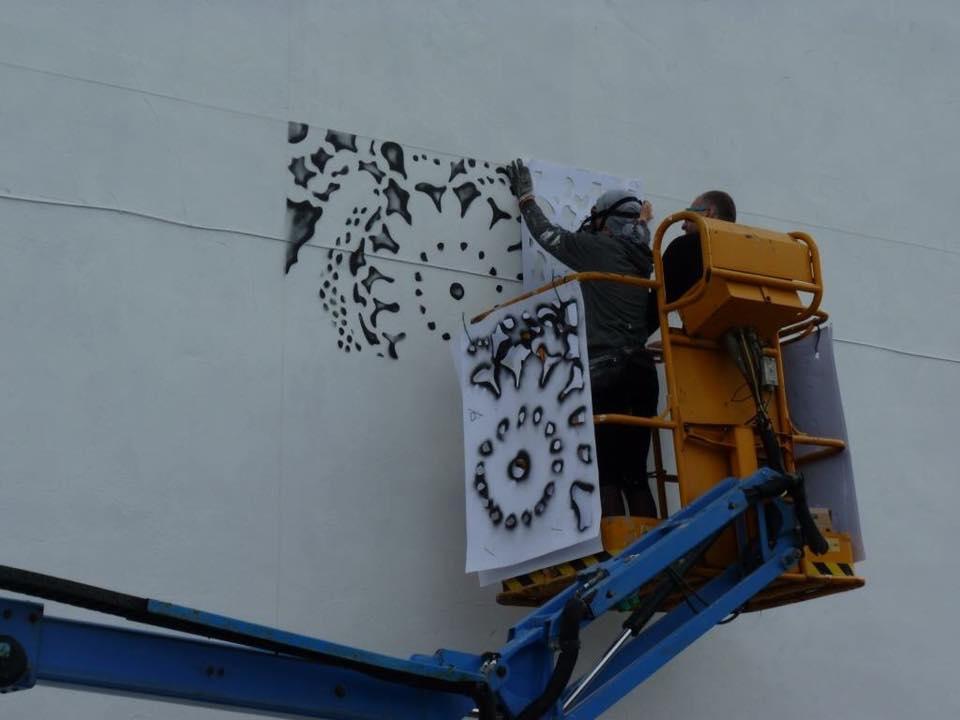 stencil NESPOON