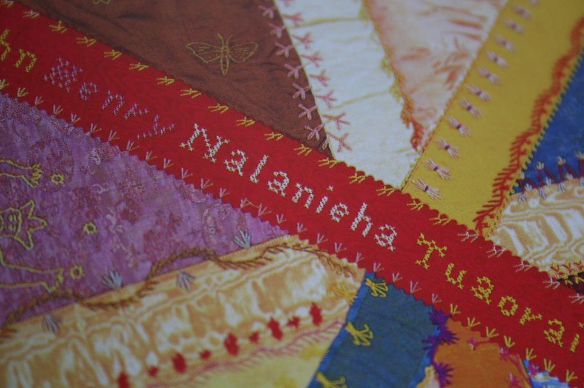 Le quilt de la reine Lili'uokalani