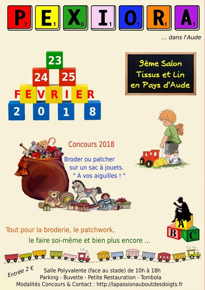 Affiche-salon-Pexiora-2018-23au25fev- 2
